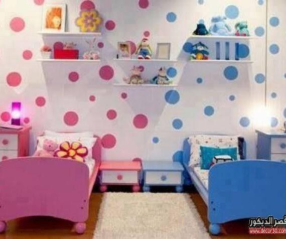 ألوان غرف نوم أطفال والوان غرف نوم أطفال بنات