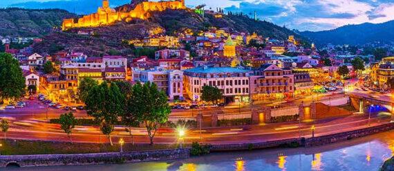 جورجيا تبليسي وأهم مدن جورجيا تبليسي